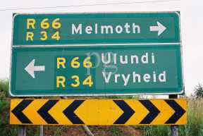 Melmoth Ulundi Vryheid road sign.jpg (9756 bytes)